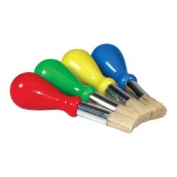Pinceaux ergonomiques gros manche - Atelier peinture pour senior EHPAD