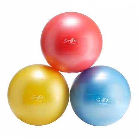 Grande balle souple - Exercices de gym douce senior - Psychomotricité
