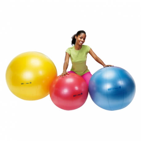 Grandes balles souples - Gym ball pour atelier gymnastique douce seniors