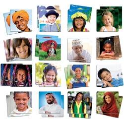 Jeu de mémoire pour seniors - Maxi-mémo Habitants du monde - Mémory