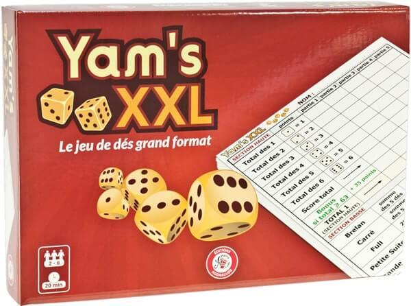 Yams XXL - Yams géant - Jouer au yahtzee au format XXL