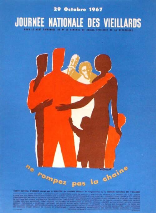 affiche de la semainebleue 1967