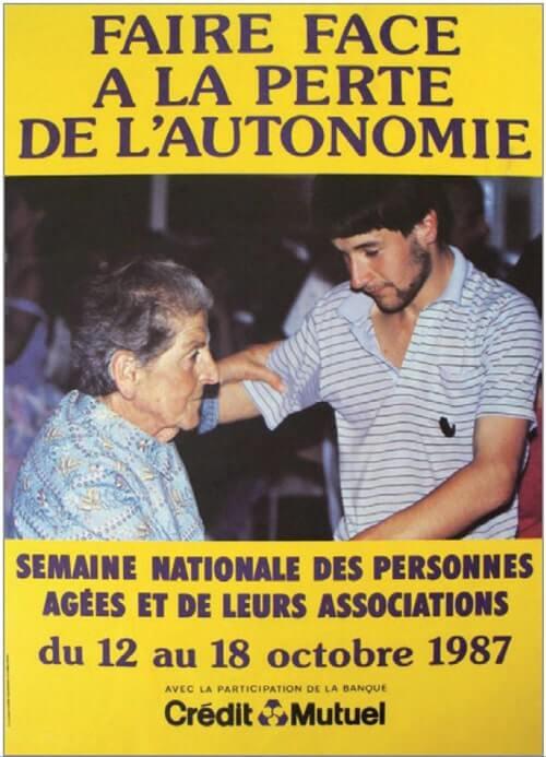 affiche de la semainebleue 1987