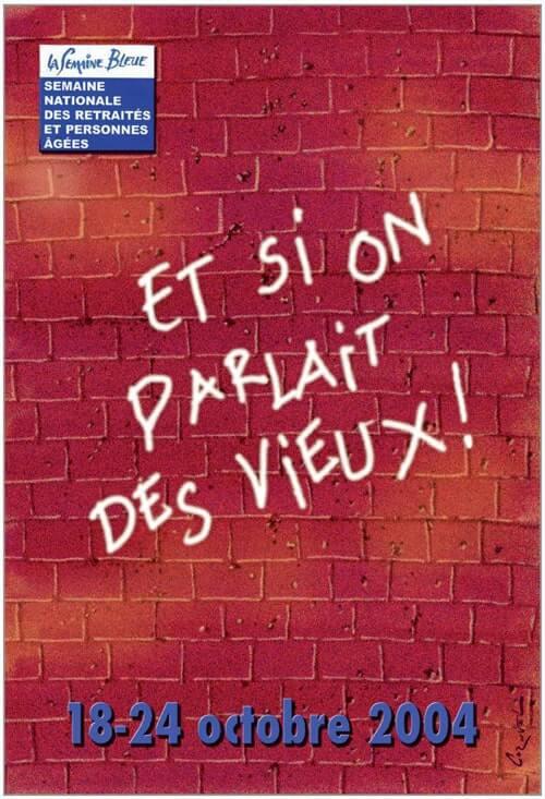 affiche de la semainebleue 2004