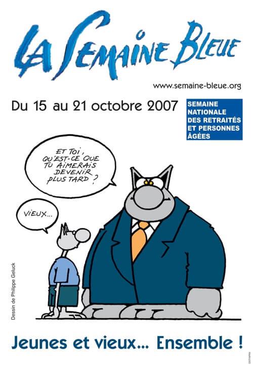 affiche de la semainebleue 2007