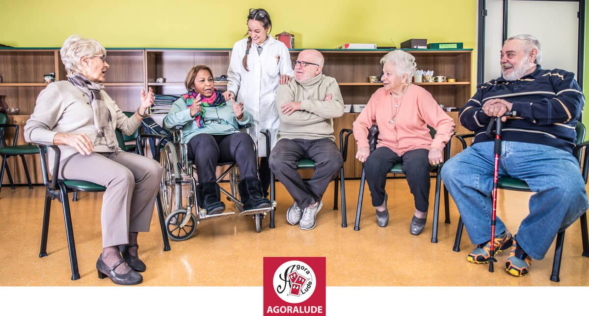 animation en ehpad avec des personnes âgées