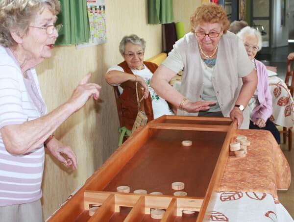 Billard hollandais personnes âgées