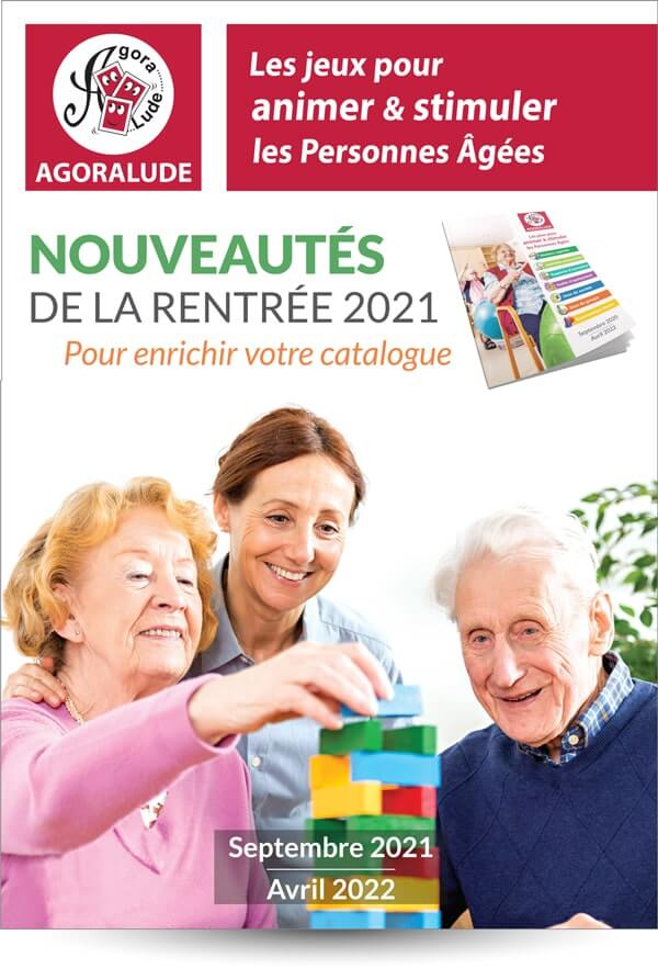 Catalogue compléments des nouveautés 2021 des jeux pour personnes âgées ehpad