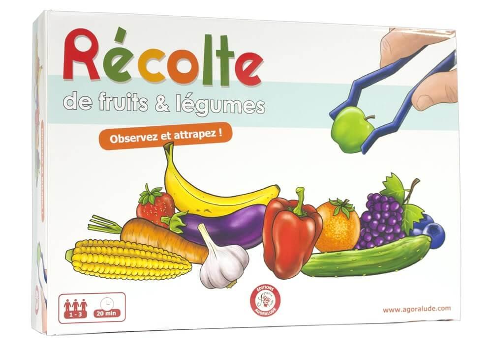 boite du jeu recolte de fruit et légume