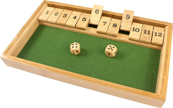 regle shut the box