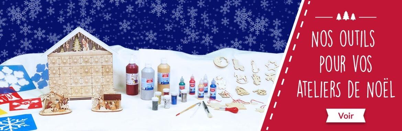 Materiels pour vos activités créatives de Noël en maison de retraite ou ehpad